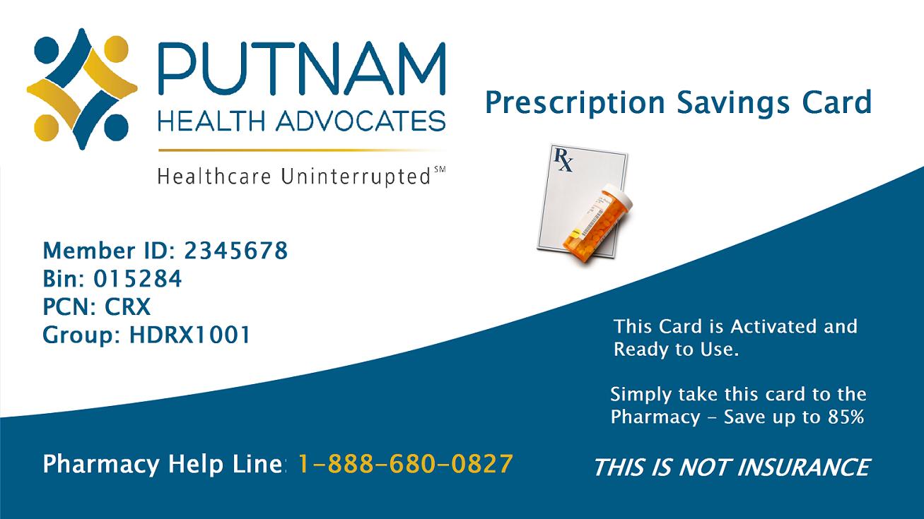 Putnam-Card | Putnam Health Advocates